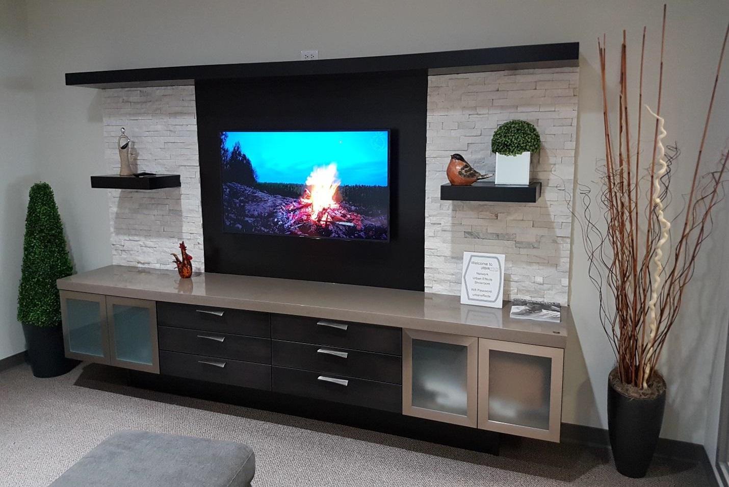 custom built entertainment centers