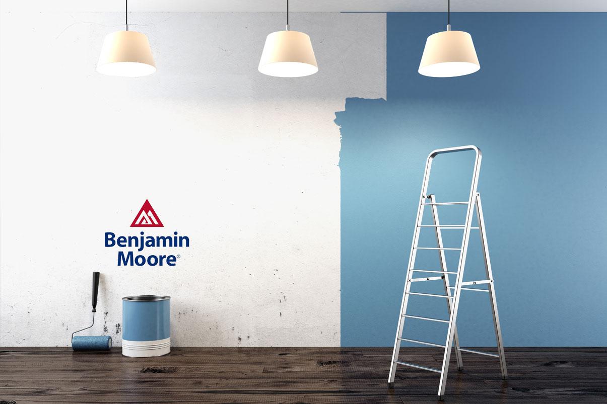 benjamin moore paint center