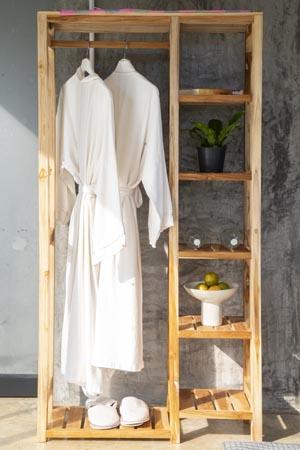 Linen Tower Rack