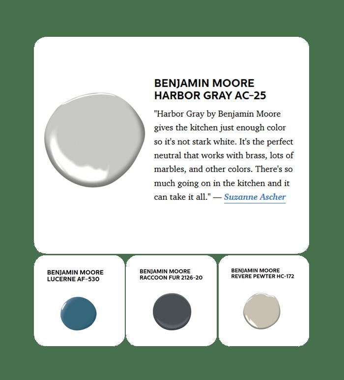 Benjamin Moore Kitchen Paint Colours