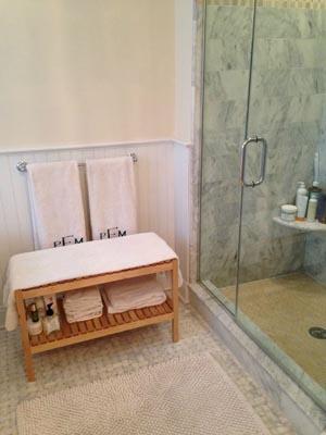 bathroom bench seats